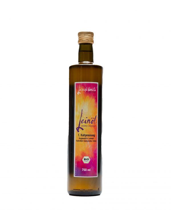 frisches Leinöl, omega 3, leinöl