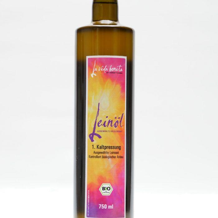 frisches Leinöl, omega 3