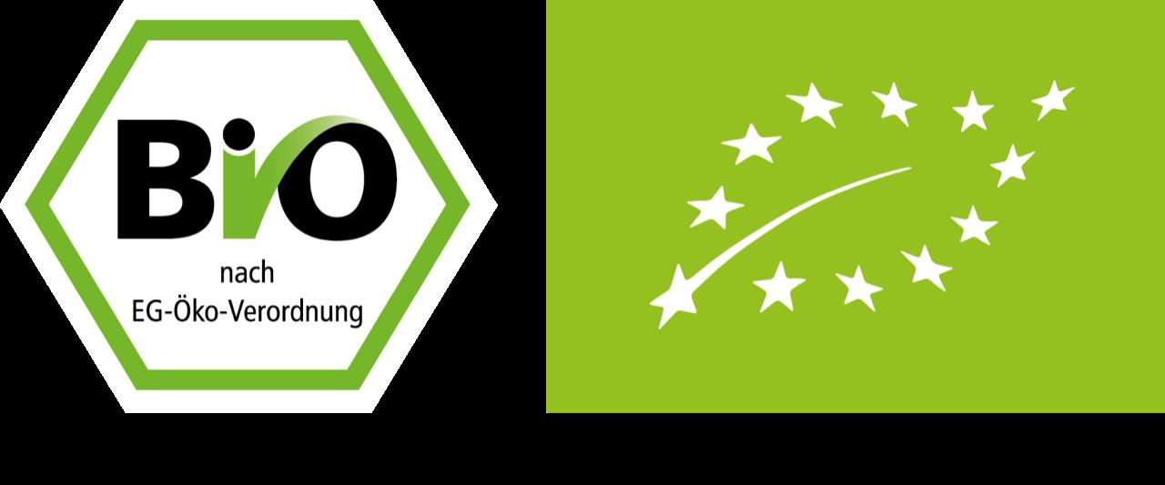 EU Bio Siegel Blatt BIO DE ÖKO ohne Nicht EU
